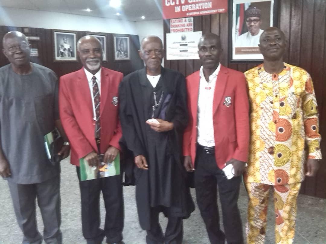 MERIT AWARD LECTURE by Prof. E. J. Alagoa at University of Lagos.